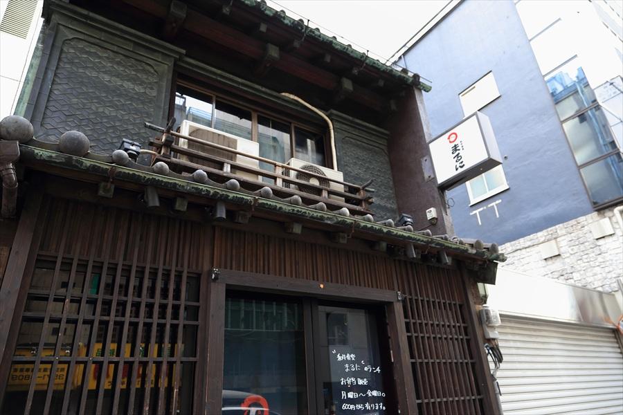 銀座新橋古い家屋の店04