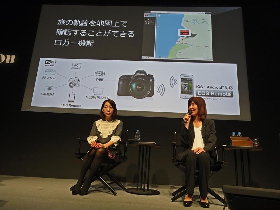 CP2013キヤノンステージ藤原トーク01
