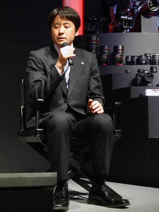 CP2013キヤノンステージ藤原トークキヤノン開発者04