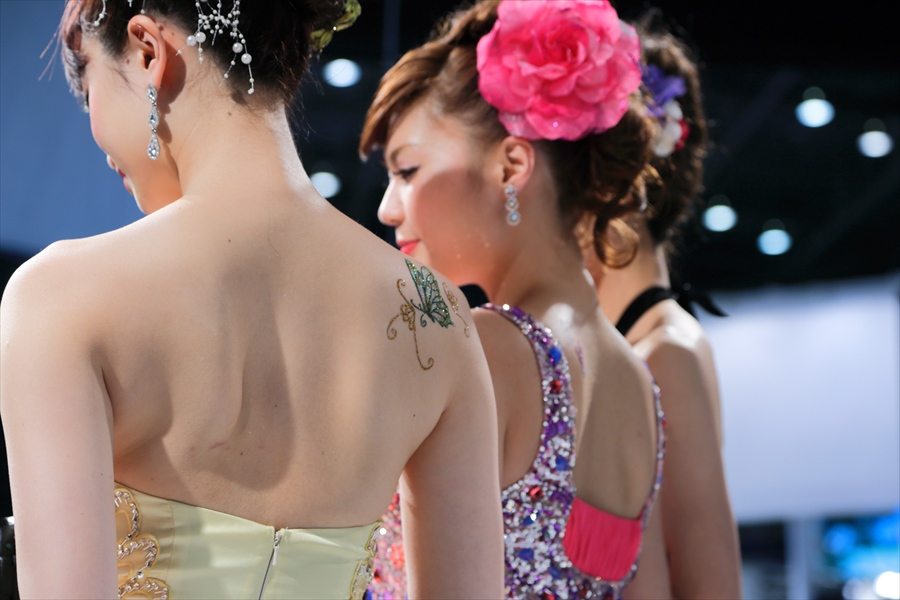 CP2013パナソニックステージモデル背中刺青シール21