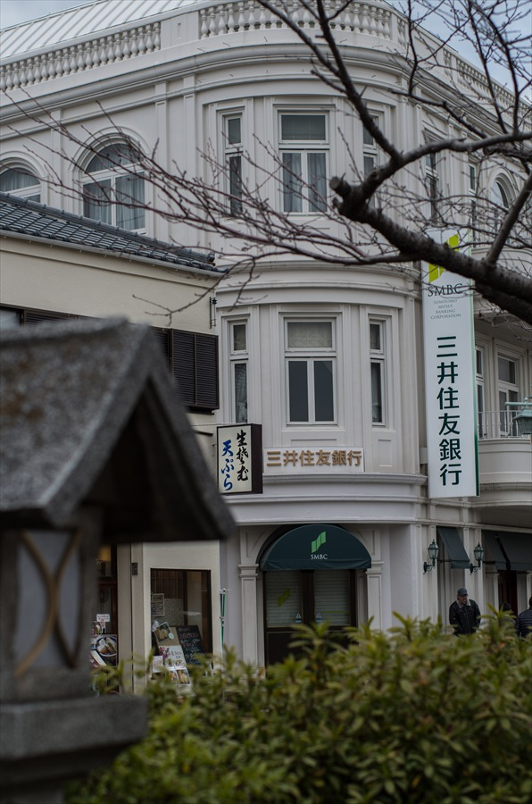 鎌倉スナップ段葛三井住友銀行支店06