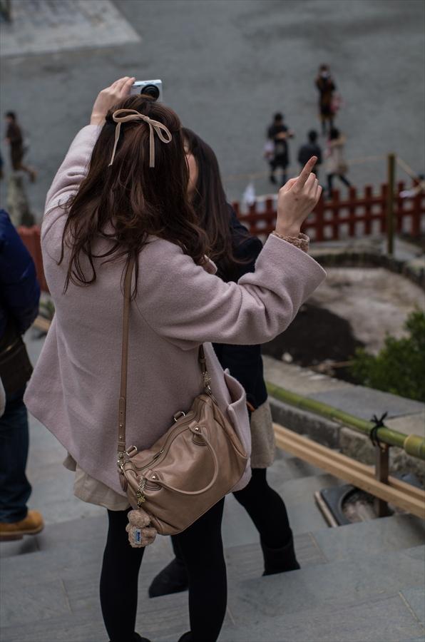鶴岡八幡宮参拝本宮前写真撮ろうっと11