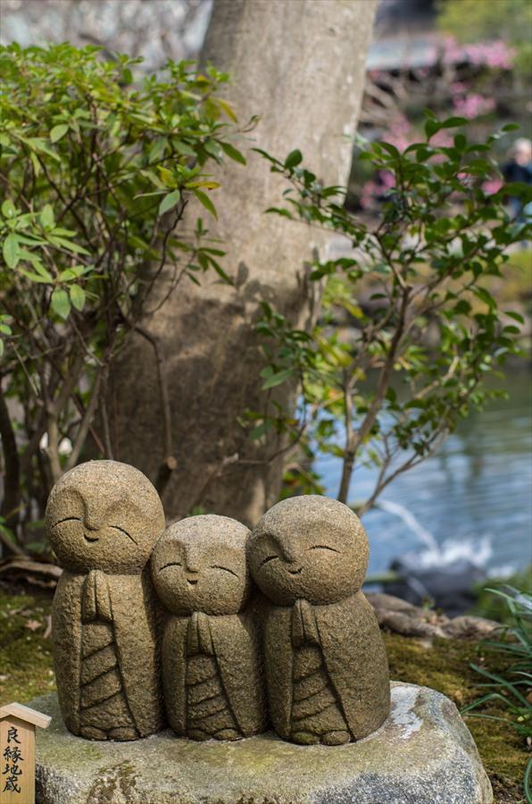 長谷寺その1坂道小さな地蔵15