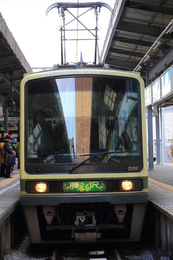 鎌倉江ノ電電車アップ05