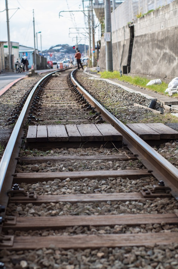 江ノ電線路じべた04
