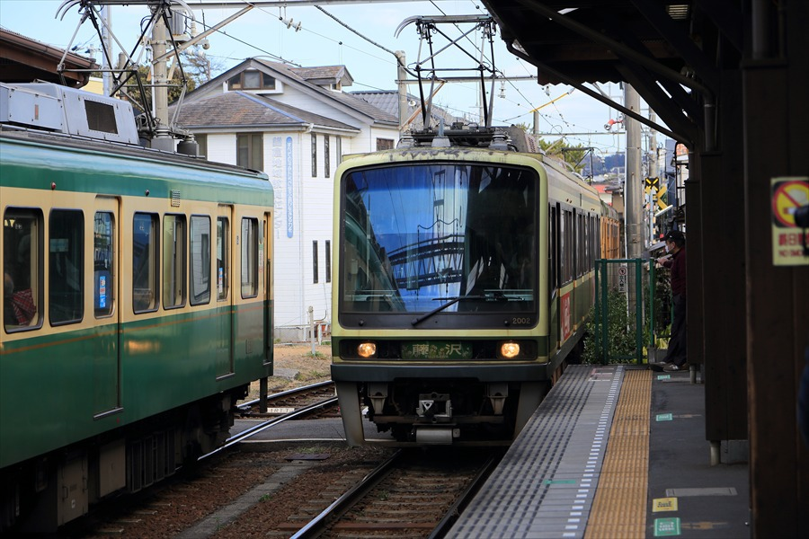 鎌倉江ノ電長谷駅交差08