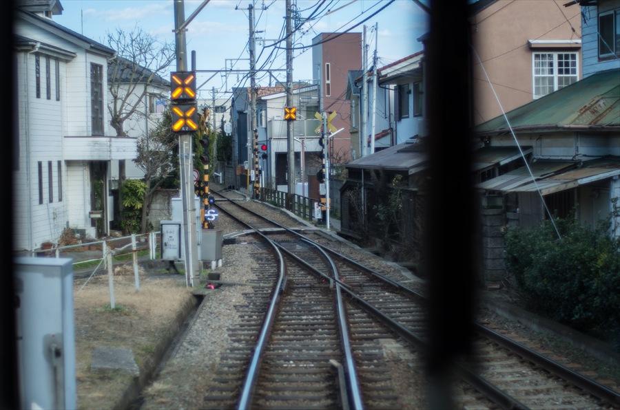 江ノ電車内から撮影10
