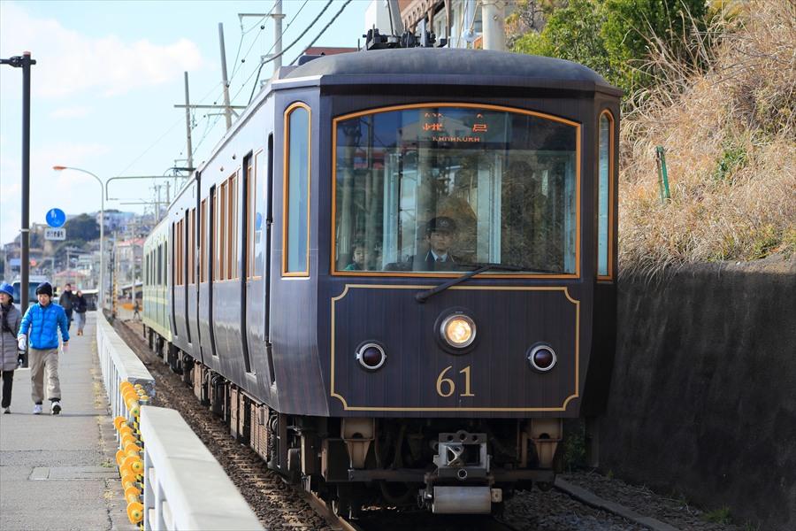 江ノ電七里ヶ浜信号所上り接近アップ06