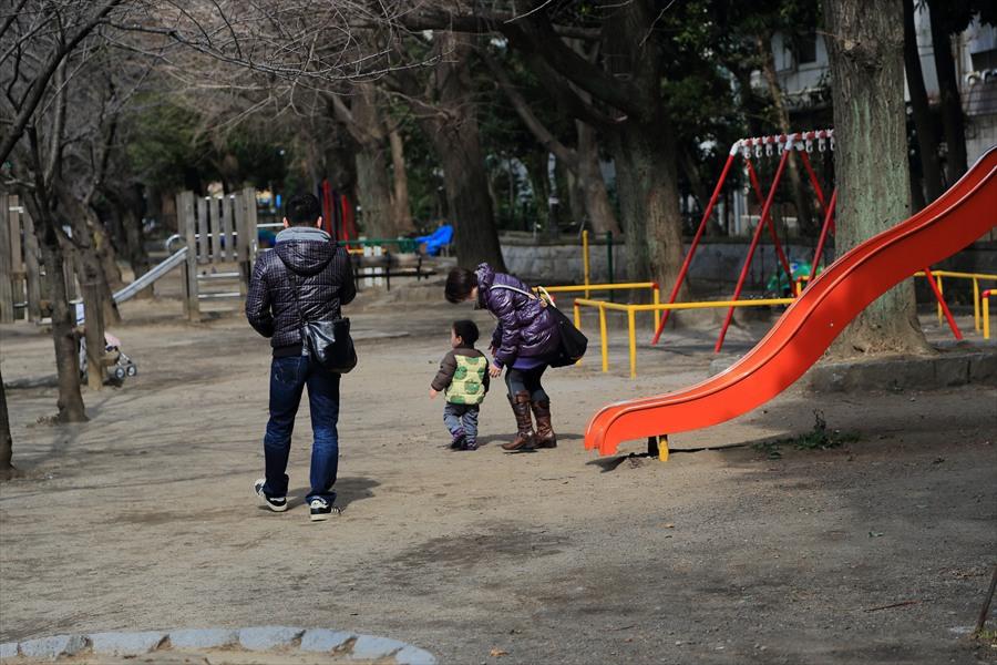 上野アメ横上野公園親子04
