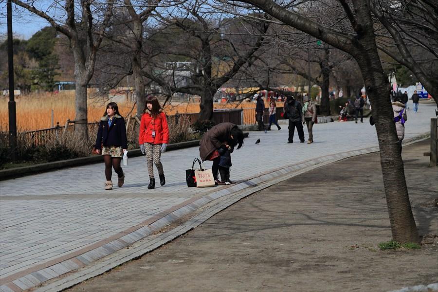 上野アメ横上野公園若い人05