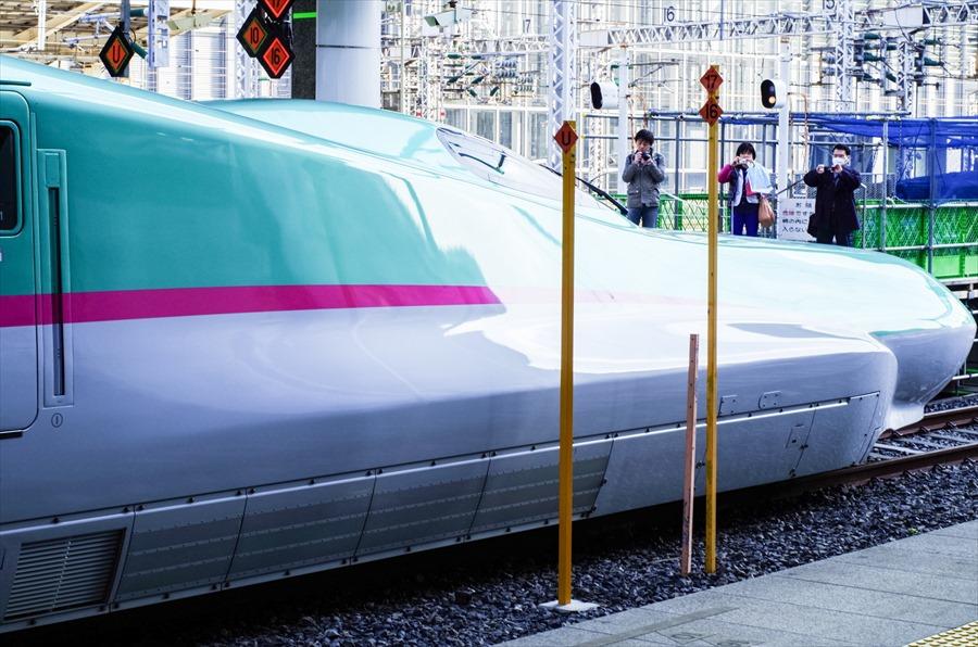 東北新幹線E5東京駅はやぶさ07
