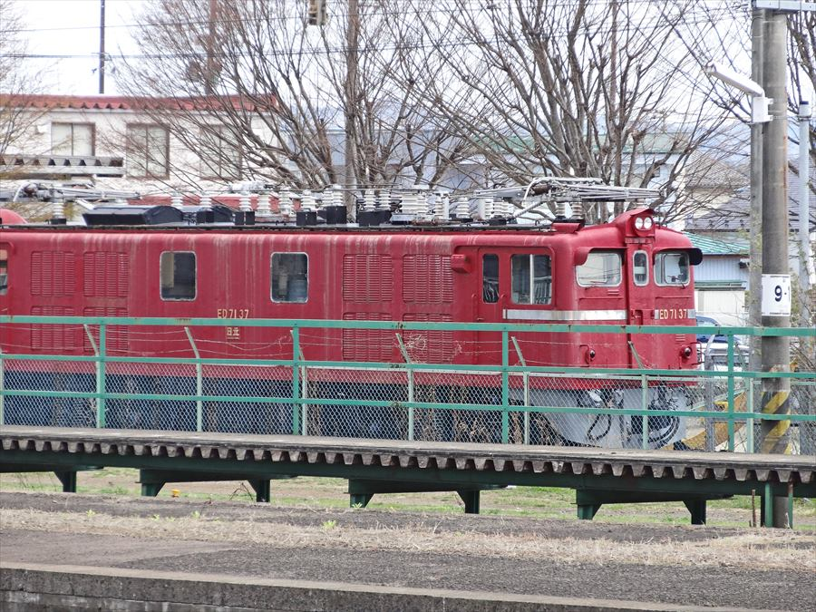 船岡駅機関車11