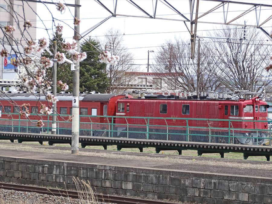 船岡駅機関車10