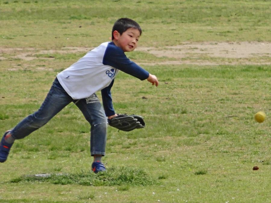 仙台榴岡公園桜その3花見関係ないよボール投げ08
