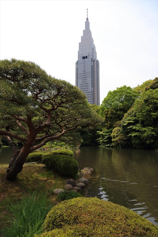 新宿御苑みどりNTTタワー02