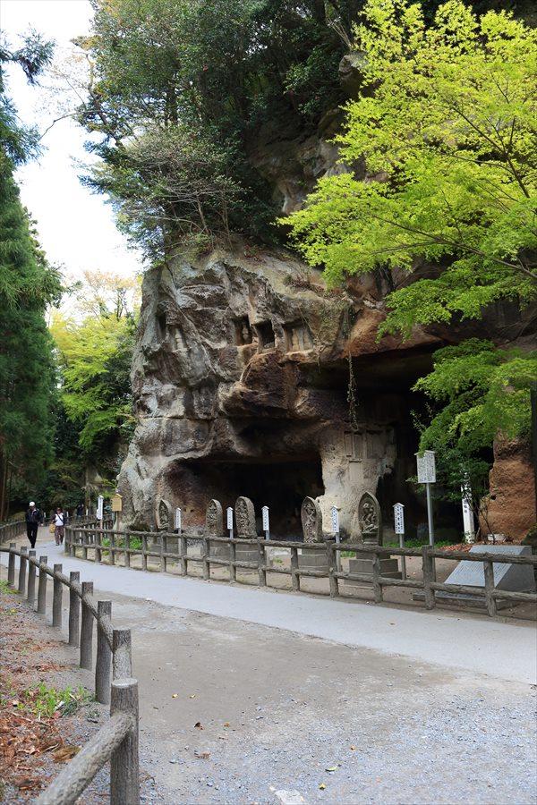 松島瑞巌寺砂岩洞穴修行地04