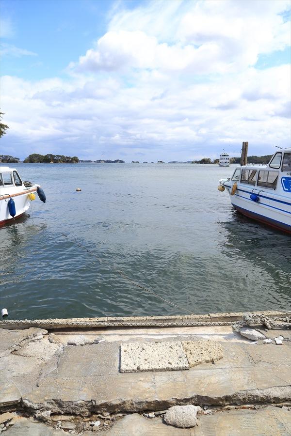 松島海岸護岸地震影響10