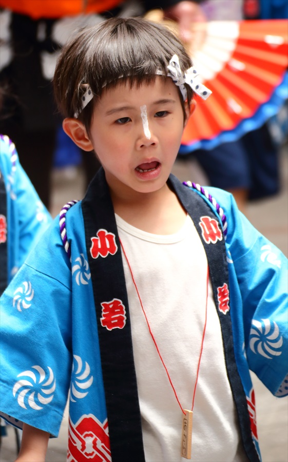 青葉祭り雀踊りお子様巡り02