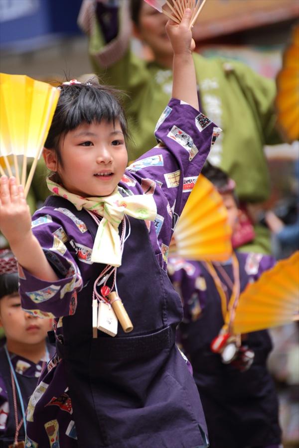 青葉祭り雀踊りお子様巡り06