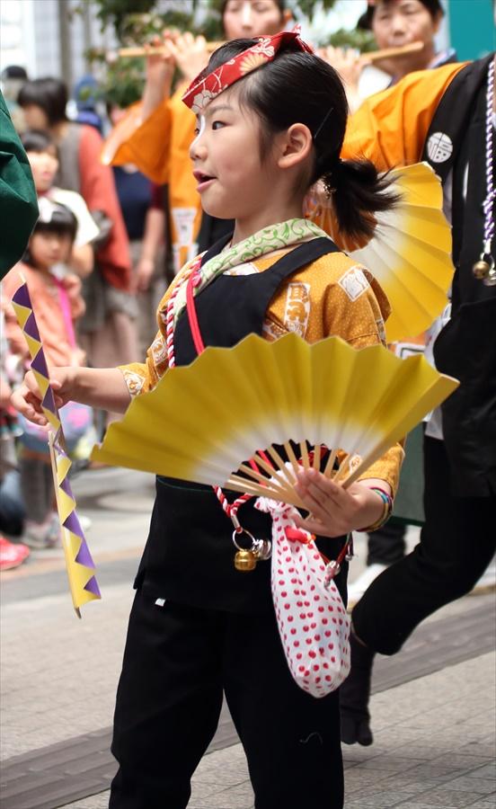 青葉祭り雀踊りお子様巡り08