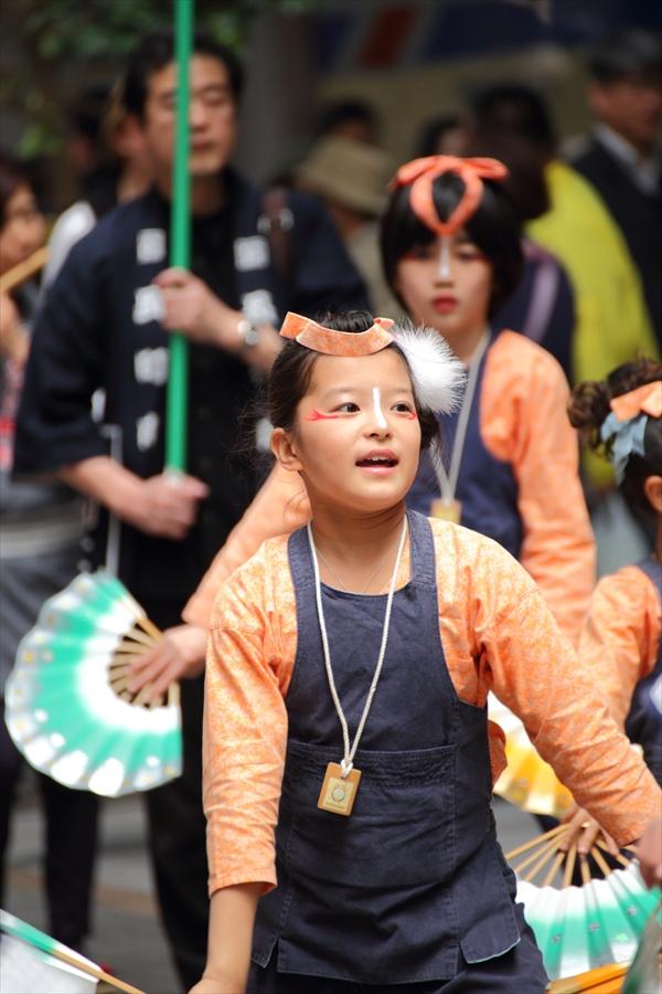 青葉祭り雀踊りお子様巡り09