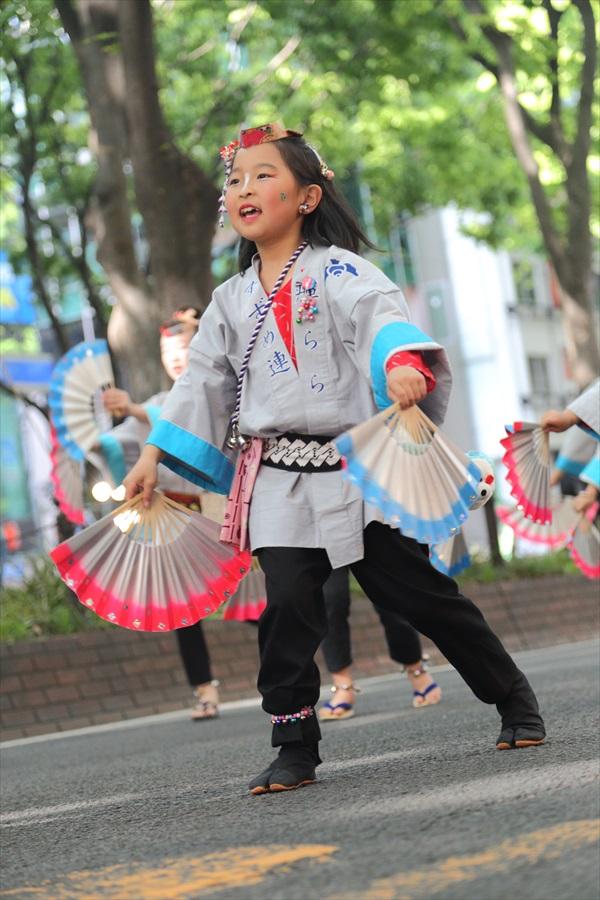 青葉祭り雀踊りお子様巡り10