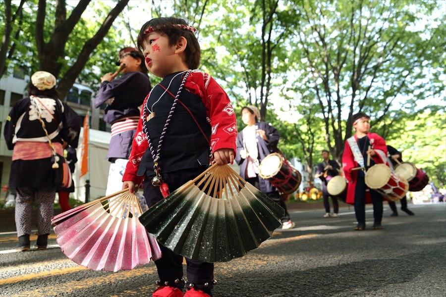 青葉祭り雀踊りお子様巡り12