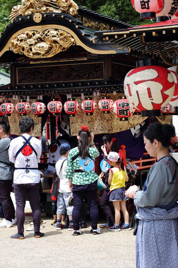 福島お祭りその2神社準備05