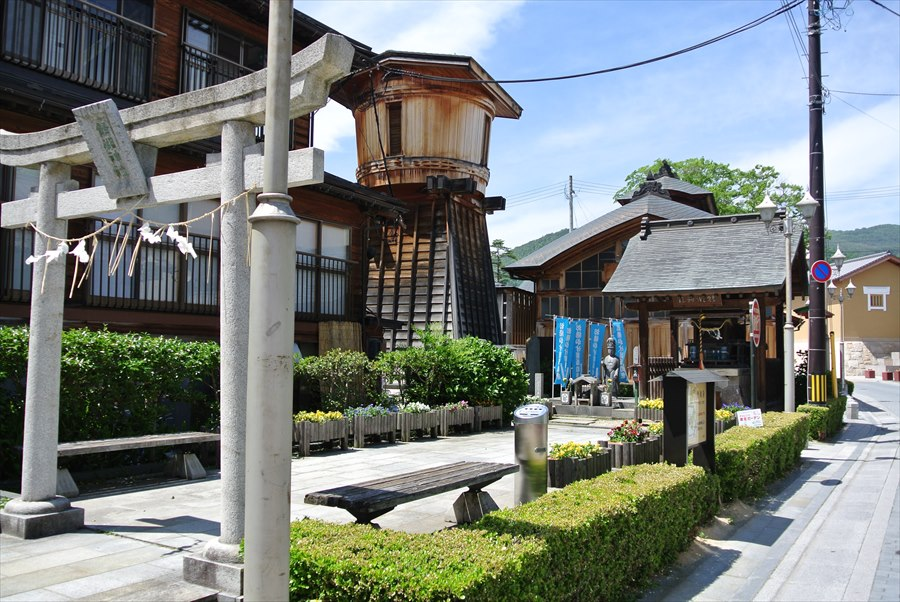 飯坂温泉発祥の地鯖湖05