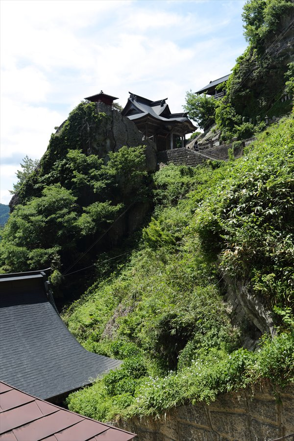 山寺登山道奥の院前最高部見え11