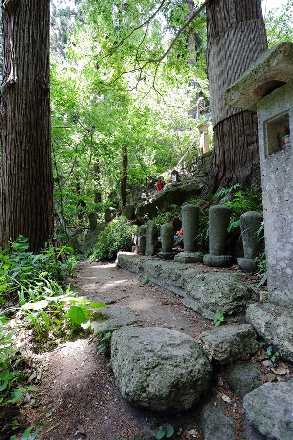 山寺山麓への路10