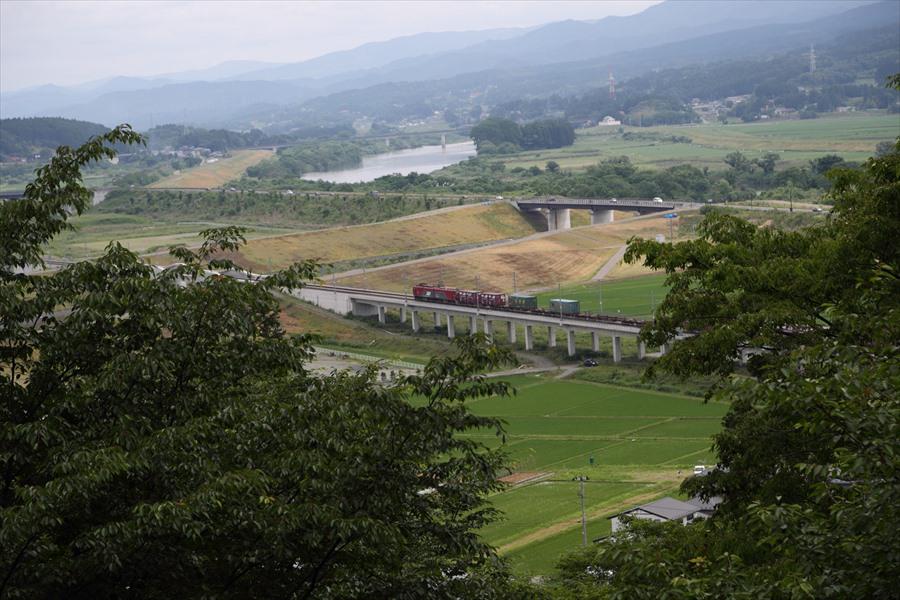 中尊寺月見坂からの眺望05