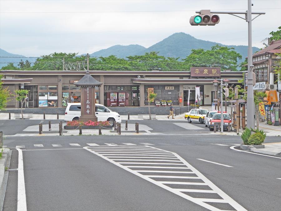 平泉駅駅前01