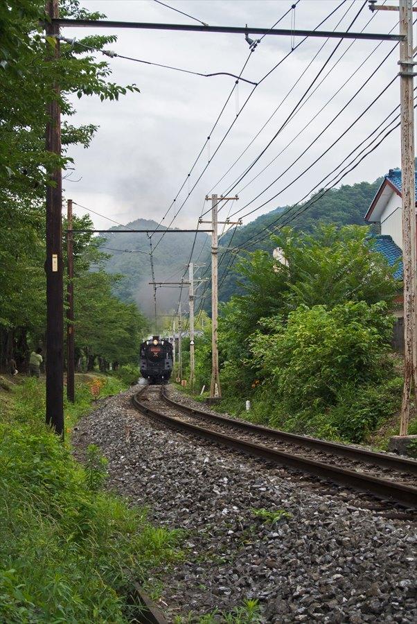 秩父鉄道SL01上長瀞近づくSL01