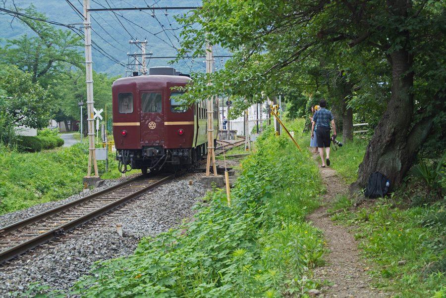 秩父鉄道SL上長瀞01SL客車去る06