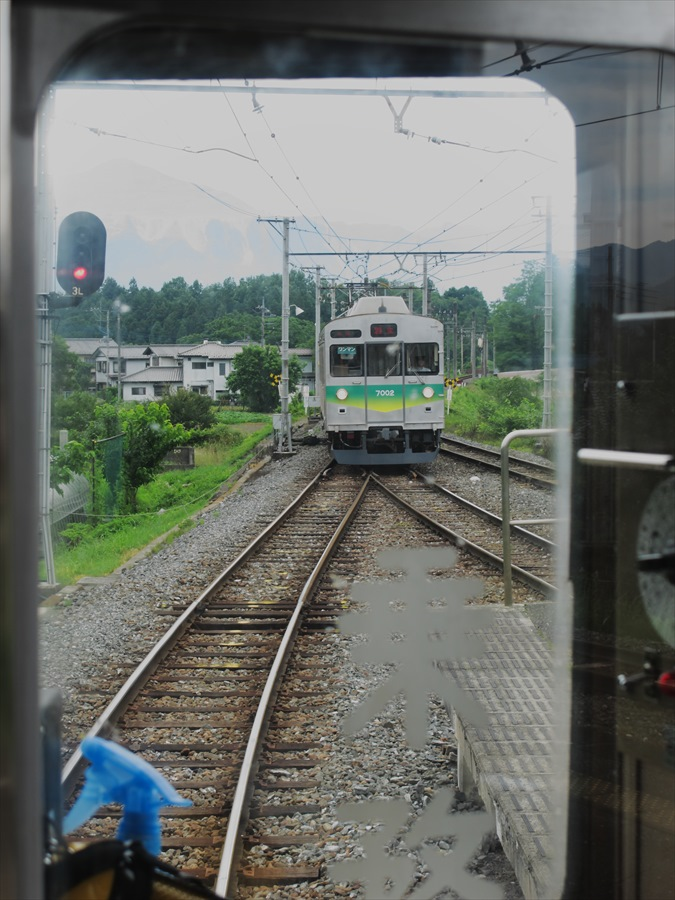 秩父鉄道電車シリーズ01前窓から撮影電車01