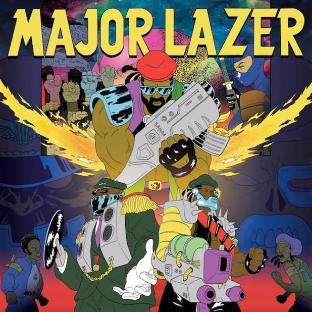 Major Lazer – Free The Universe