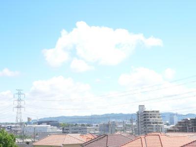 """今年10回目の""""猛暑日""""を迎えた京都の夏空"""