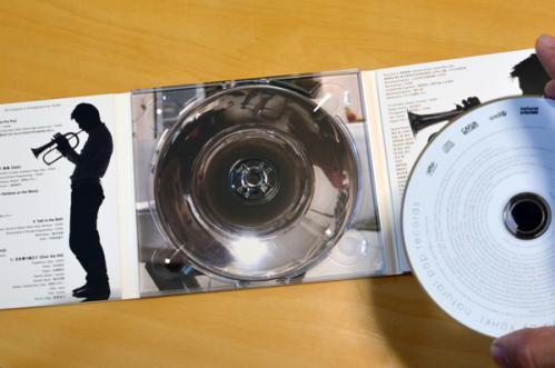 CD裏の写真