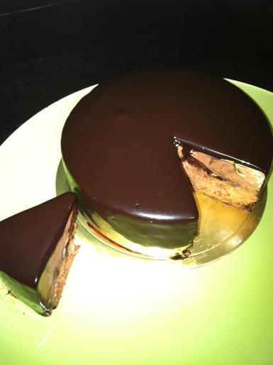 gateau au chocolat~HOTEL de MIKUNI@四ツ谷