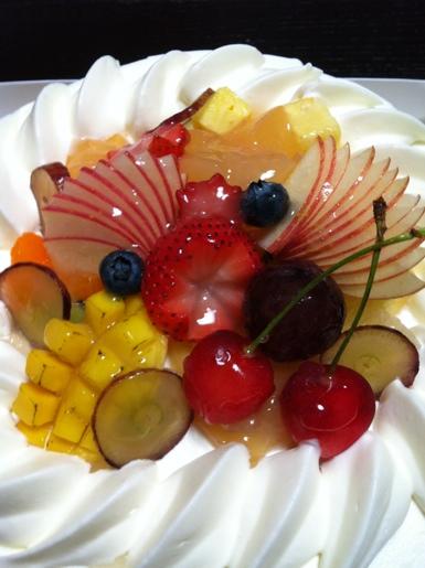/デコレーションケーキ~HOTEL de MIKUNI@四ツ谷
