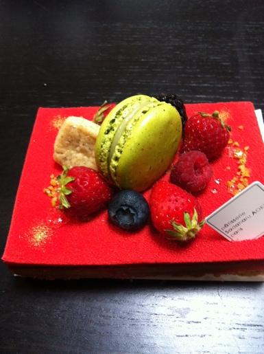 ケーキ~patisserie sadaharu aoki@渋谷 ヒカリエ パティスリー サダハル アオキ