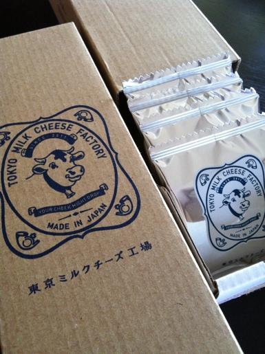 クッキー 東京ミルクチーズ工場 ソルト&カマンベール@渋谷