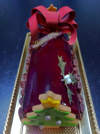bûche de Noël~HOTEL DE MIKUNI@四ツ谷 ブッシュドノエル
