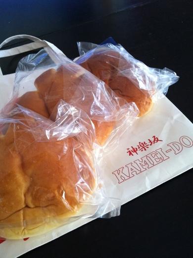クリームパン~龜井堂@神楽坂