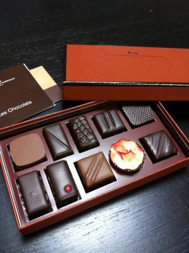 chocolat~la maison du chocolat@銀座