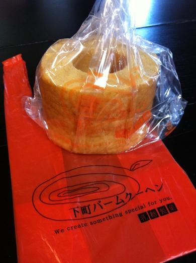 バウムクーヘン~乳糖製菓@錦糸町 下町バウムクーヘン