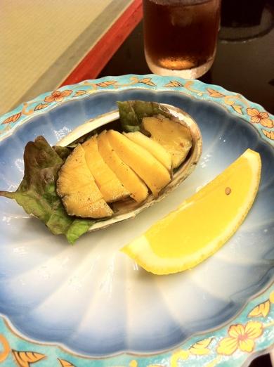 あわび料理~ホテル三景園@静岡県焼津市 あわび食べ放題