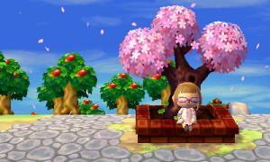 とびだせ どうぶつの森 桜と一緒