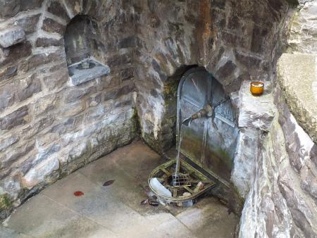 Heiligenbronnの泉